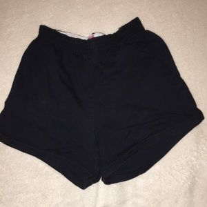 Soffe black shorts worn once size S